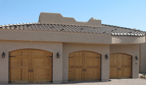 Garage door custom installation
