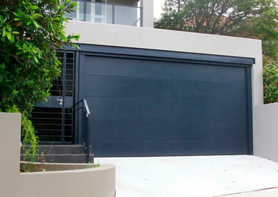 Custom Modern Garage Door Install