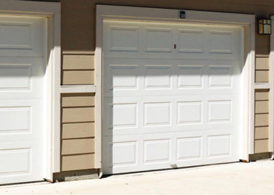 Custom Double Garage Door Install
