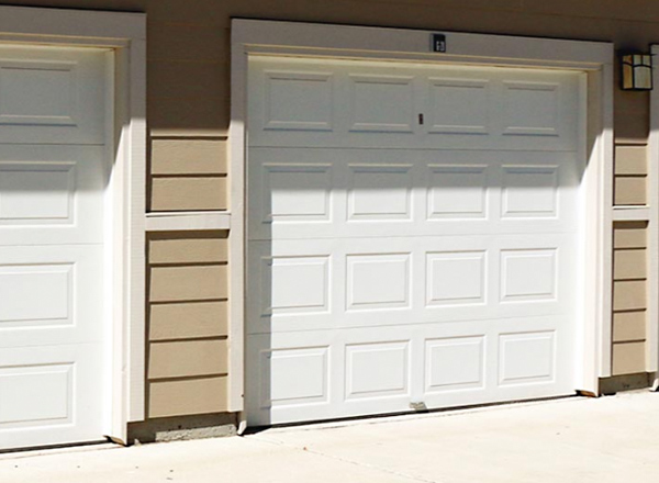 Albuquerque Custom Double Garage Door Install