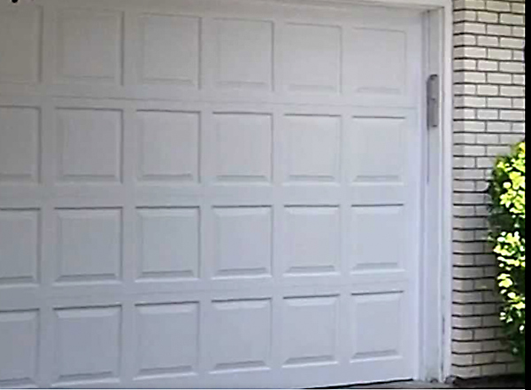 Keypad Access Garage Door Install
