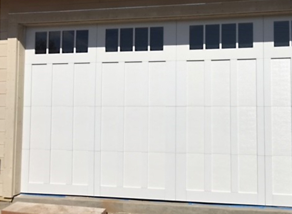 Tall Custom Garage Door Install