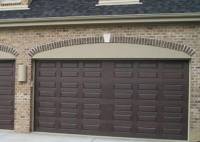 Wide Garage Door Install
