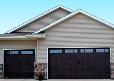 Large and Standard Garage Door Install