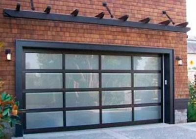 Albuquerque Glass Garage Door Install