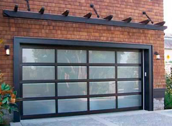 Glass Garage Door Install