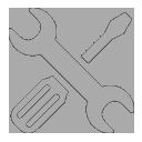 Repair icon gray
